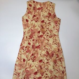 Tommy Bahama Dresses - Tommy Bahama Silk Linen Dress Sz 6 Peach Red